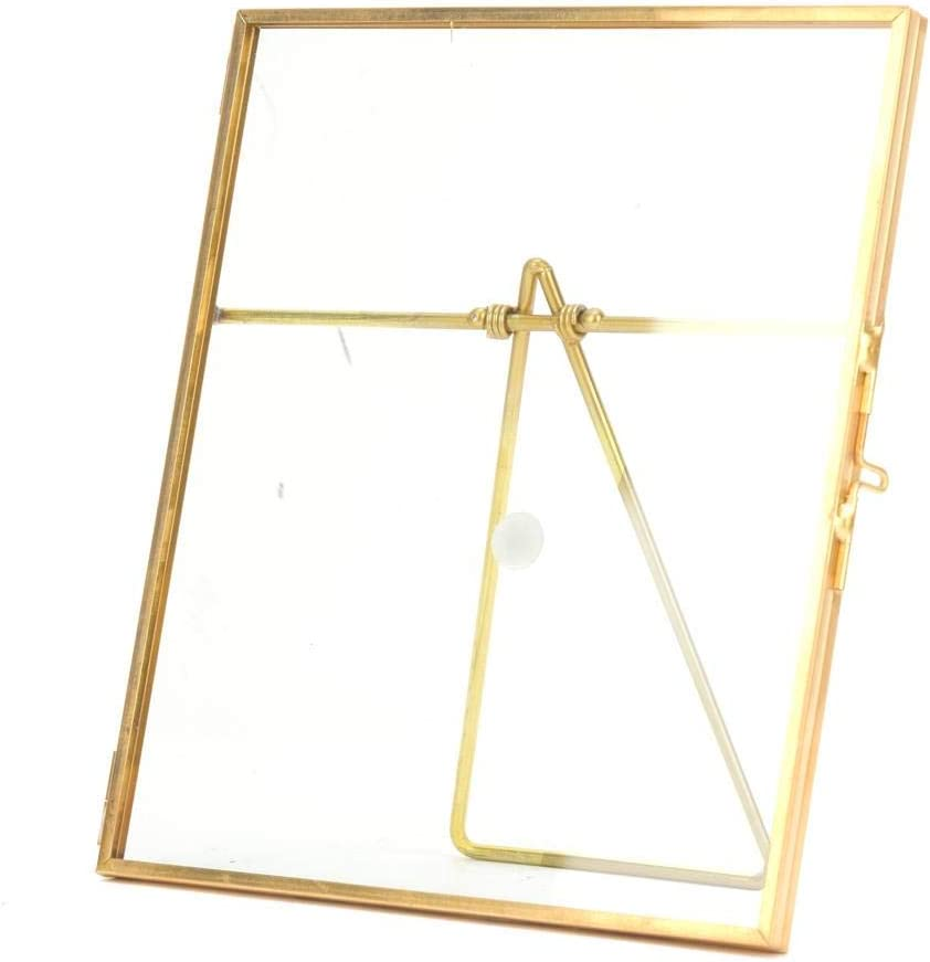 Specimen Max 65% OFF Clip 14x16cm Gold Copper Stylish Bar Durable Super sale period limited Appearance