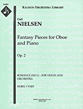 Fantasy Pieces for Oboe and Piano, Op.2 (Romance (No.1) – for violin and orchestra): Horn 1 and 2 parts (Qty 2 each) [A6481]