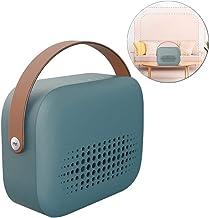 DASGF Portátil Ventilador Calefactor, PTC De Cerámica del Ventilador del Calentador, 800W, Tip-sobre La Protección, Estufa Calentador De Inicio De Ahorro De Energía Pequeño,Verde