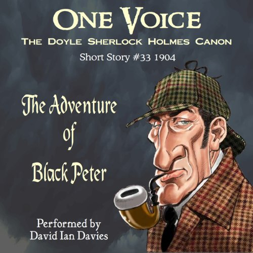 The Adventure of Black Peter audiobook cover art