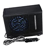 Baoblaze 12V Portable Mini Air Conditioner Evaporative Cold Water Cooler Cooling Fan