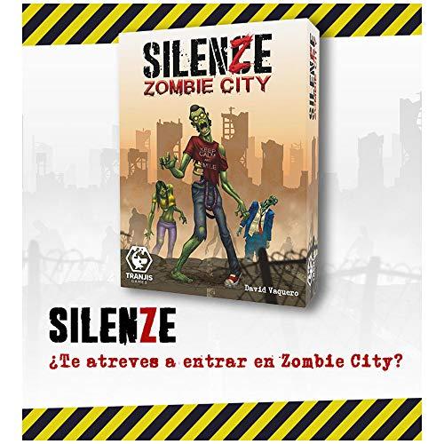 Tranjis Game SILENZE Zombie City - Juego de Cartas
