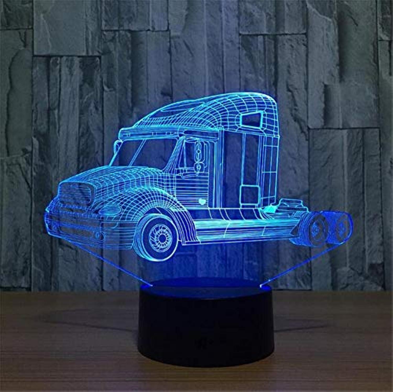 North cool 3D Nachtlicht Touch Bunte Farbverlauf Kinderzimmer Tischlampe Mnner Und Frauen Freunde Klassenkameraden Geburtstagsgeschenk (gre   5 Farbes)
