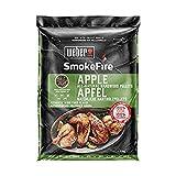 Weber Wood Pellets Apple SmokeFire Granulés de Bois 100% Naturel, 0