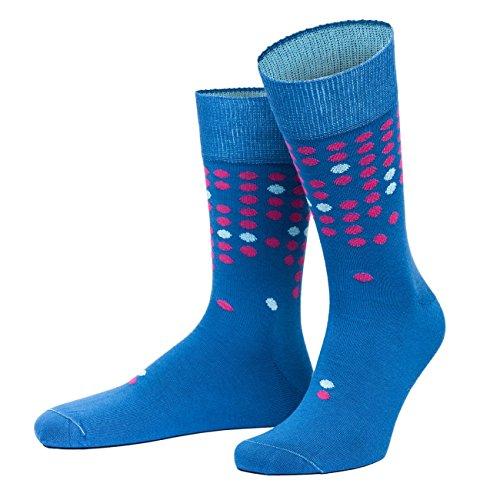 von Jungfeld - Herren Socken/Design Strumpf Baumwolle 1 Paar gemusterte Herrensocken 39-41 Scotti