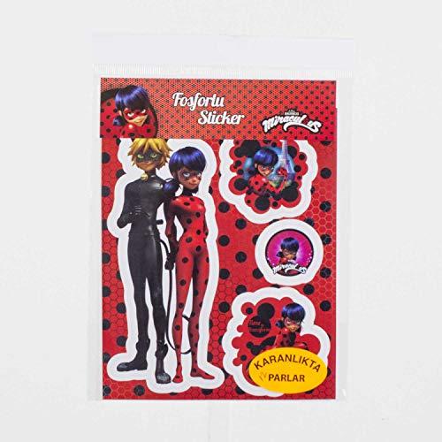 Euro Flora phosphoreszierenden Stylus Lady Bug 4 Set