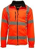 Couleur: Orange ou Jaune entièrement doublé Go/RT 3279Hi Vis avec zip veste polaire