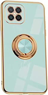 Hicaseer Case for Huawei Nova 8 SE,Ultra-Thin Ring Shockproof Flexible TPU Phone Case with Magnetic Car Mount Resist Durab...