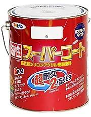 アサヒペン 油性スーパーコート 1.6L 白