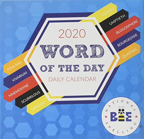 2020 Word of the Day Daily Desktop Calendar