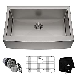 Kraus Apron Single Bowl 16 gauge sink