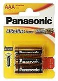 Panasonic LR 03 PAP - Paquete de 4 pilas alcalinas AAA (1,5 V)