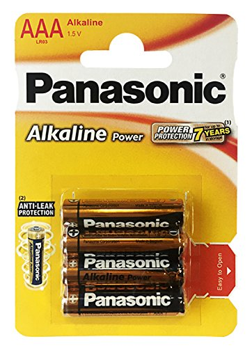 Panasonic LR 03 PAP Alkali Micro AAA Batterie 1,5V (4 Stück)