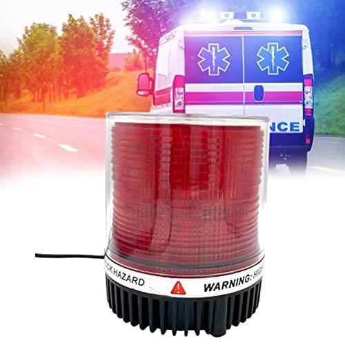 SUPYINI Flashing LED Warning Light 360°...