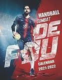 Handball: 2021–2022 Sport/Activites Calendar – 7 x 11 Big Size with High Quality Images