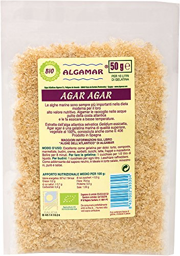 Compos De Algas Agar Agar 50 Gr de Algamar