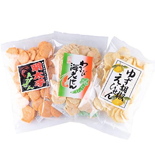 吉松 えびせん 詰め合わせ 6袋セット [ 3種 × 2袋 ] 業務用 せんべい 煎餅 お菓子 おつまみ 珍味 ( スパイシー工房 )