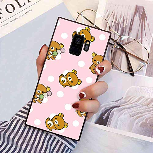 Animals Bear Rilakkuma Phone Case Compatible with Galaxy S9 5.8in