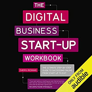 The Digital Start Up Workbook     The Ultimate Step-by-Step Guide to Succeeding Online from Start Up to Exit              Di:                                                                                                                                 Cheryl Rickman                               Letto da:                                                                                                                                 Karen Cass                      Durata:  13 ore e 26 min     1 recensione     Totali 5,0