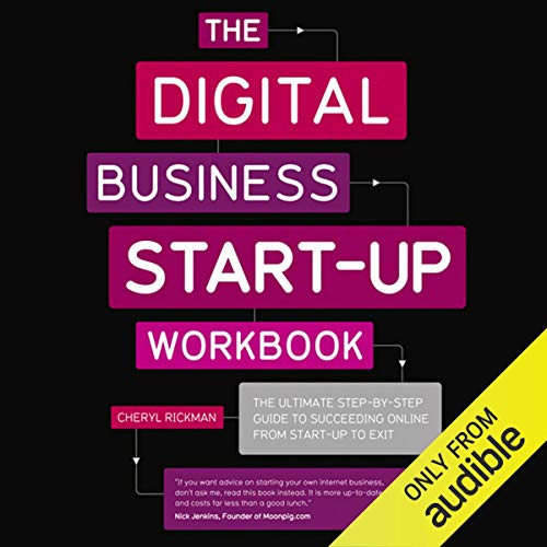 The Digital Start Up Workbook cover art