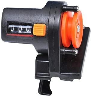 Panarciss Fishing Line Depth Finder Counter Fishing Tool Tackle Digital Display Length Gauge Counter Accurate Manual Meter Gear