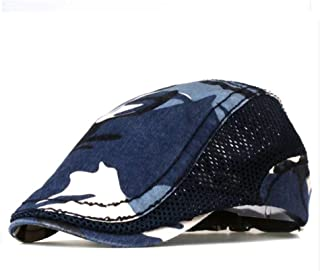 Camouflage Beret Cap for Men and Women Visors Sun Hat Gorras Planas