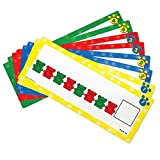 Learning Resources- Compare Bears Pattern Cards Tarjetas de Series Originales Three Bear Family, Color (LER0753)