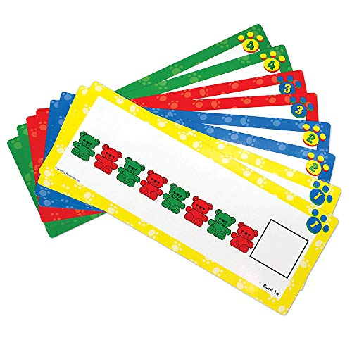 Learning Resources Three Bear Family Pattern Cards, Homeschool, Early Math Skill Learning, Bears Not Included, Ages 3+