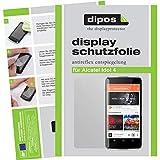 dipos I 6X Schutzfolie matt kompatibel mit Alcatel Idol 4+ Folie Bildschirmschutzfolie