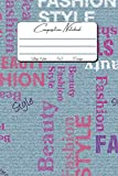 Denim Notebook: 6x9inches 120pages Denim Blue Jeans Typography Notebook...