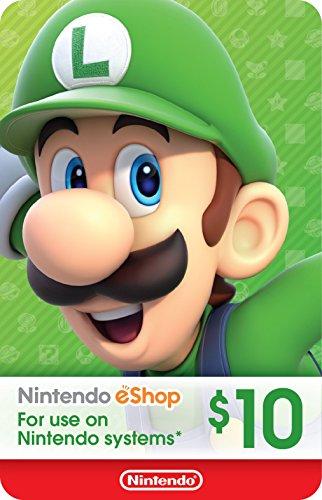 $10 Nintendo eShop Gift Card [Digital Code]