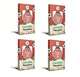 Popcornloop Zubehör bestehend aus 24x Fußball Popcorntüten in 4 Packungen á 6 Tüten. Selbst Frisch Zubereiten - Ein Gesunder Snack - Individuell Würzen - Einfach Lecker - Popcorn wie...