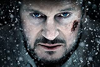 Snowflakes Actors Liam Neeson Faces The Grey Tv Movie Film Poster Fabric Silk Poster Print B0120-81