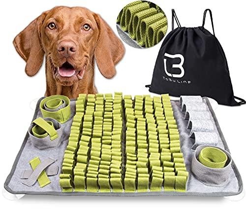ToBu Line® Schnüffelteppich Hunde - Interaktives Hundespielzeug Intelligenz fördernd - Intelligenzspielzeug für Hunde zur Beschäftigung und Auslastung - Denkspielzeug