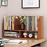 QQDL Revistero Archivos,Desktop Storage Box,MDF,Estante pequeño de Varias Capas,Resistente a los arañazos y al Desgaste,Impermeable y fácil de Limpiar,oficinas,Almacenamiento de Archivos en el hogar,