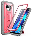 SUPCASE Unicorn Beetle PRO Series Phone Case for Samsung Galaxy Note 9, Full-Body Rugged Holster Case with Built-in Screen Protector for Samsung Galaxy Note 9 2018 (Pink)