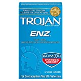 Trojan ENZ Spermicidal Lubricated: 12-Pack of Condoms