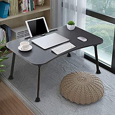 Amazon - Save 80%: Laptop Lap Desk – Foldable Laptop Desk Computer Bed Tray for Bed and Sofa, La…