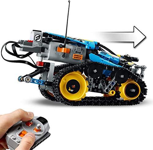 LEGO Technic - Vehículo Acrobático a Control Remoto, Coche Teledirigido de Juguete, Set de Construcción 2 en 1, Funciona con Elementos de Power Functions (42095)