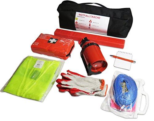 EJP-Bag Praktisches Erste-Hilfe-Set (Notfall-Set). Kofferraumtasche Passend für Fusion