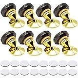 Riiai 8 unids/set doble cara adhesivo altavoz Spikes, CD Audio Amplificador Aislamiento Pies, Almohadillas a prueba de golpes para uso en el hogar y la oficina