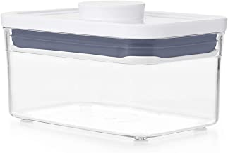 OXO Good Grips POP Container - Airtight Food Storage - 0.6 Qt Rectangle (Set of 4) for Tea and More