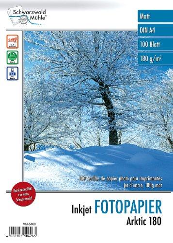 Schwarzwald Mühle Druckerpapier: 100 Blatt Inkjet-Fotopapier