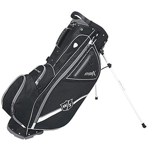Wilson Staff Hybrix Carry Bag, Black/Grey