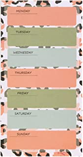 Week Planner Pad 80 Sheets Weekly Checklist Planning Pad Tear-Off Daily to Do List Weekly Goals Notepad Organizer for Offi...