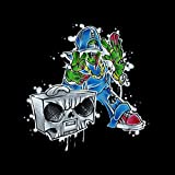 The Boom Bap Blood Splat Horrorcore Back Pack [Explicit]