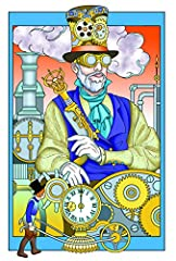 Dover DOV-99197 Steampunk Coloring Book (Creative Haven Coloring Books) #2