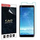 J&D Compatible pour 8 Pièces Protection écran Nokia 7 Plus, [Non Couverture Complète] Protecteur...
