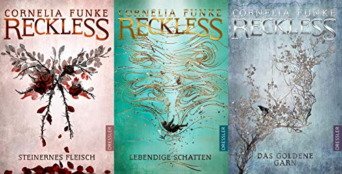 Reckless Band 1-3 von Cornelia Funke + 1 exklusives Postkartenset