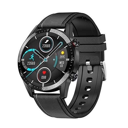 Voigoo Smartwatch(2020 Nuovo,Chiamata Bluetooth) Orologio Fitness Donna Uomo Smart Watch Contapassi Cardiofrequenzimetro da Polso ECG Orologio Sportivo Activity Tracker Cronometro per Android iOS